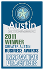 2011 Greater Austin Awards Winner
