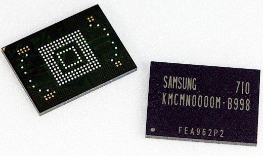 moviNAND eMMC chips