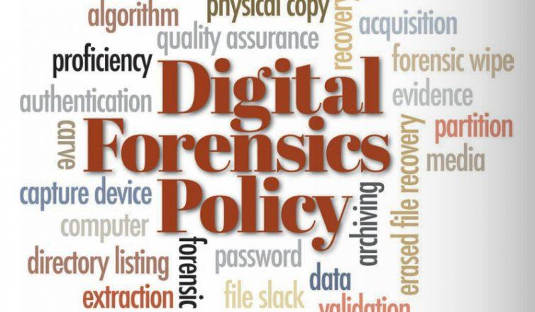 digital forensics policy