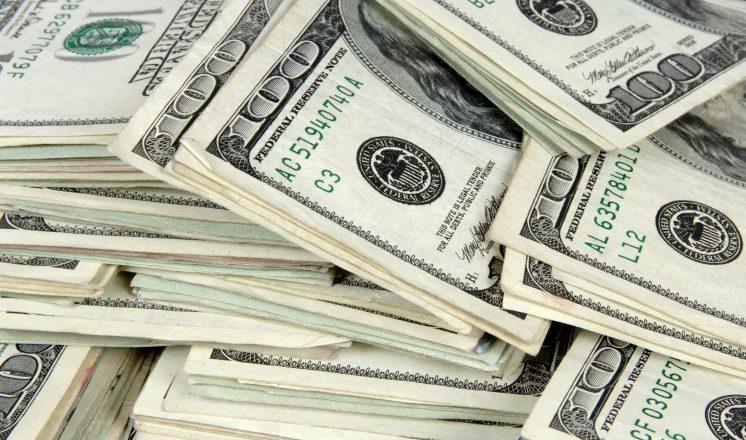 image of money - dollar notes