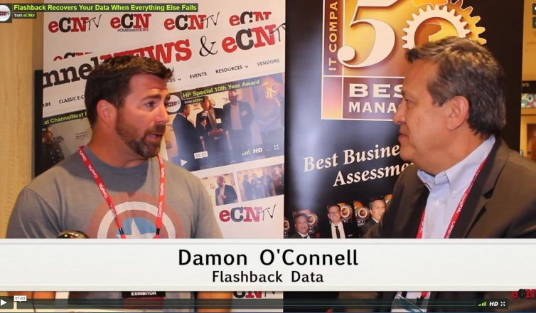 Flashback Data video with damon o'connell