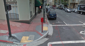 Street view image that confirms GPS metadata from digital photo
